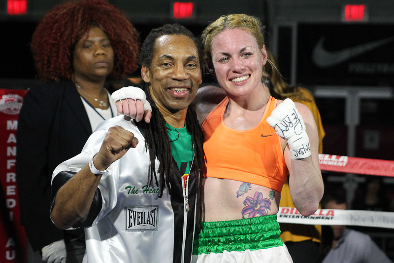 BROADWAY BOXING: RESULTS FROM BROOKLYN
