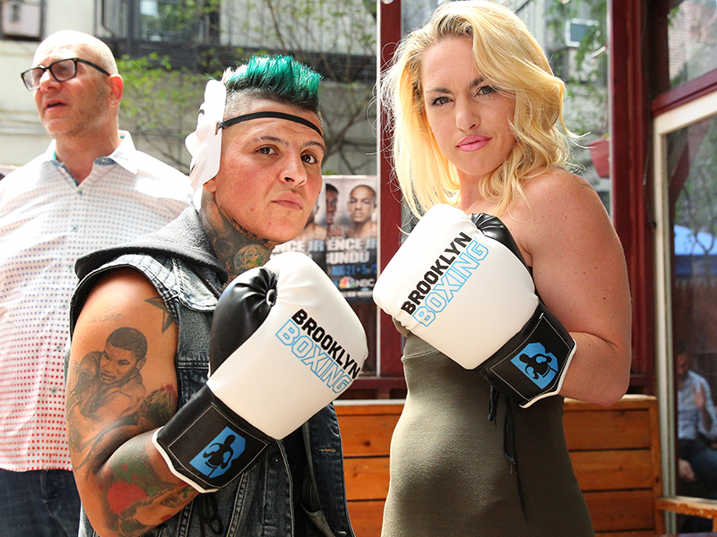 HEATHER HARDY – SHELLY VINCENT LOOKING TO STEAL THE SHOW IN CONEY ISLAND