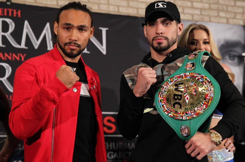 Keith Thurman vs. Danny Garcia Final Press Conference Quotes & Photos