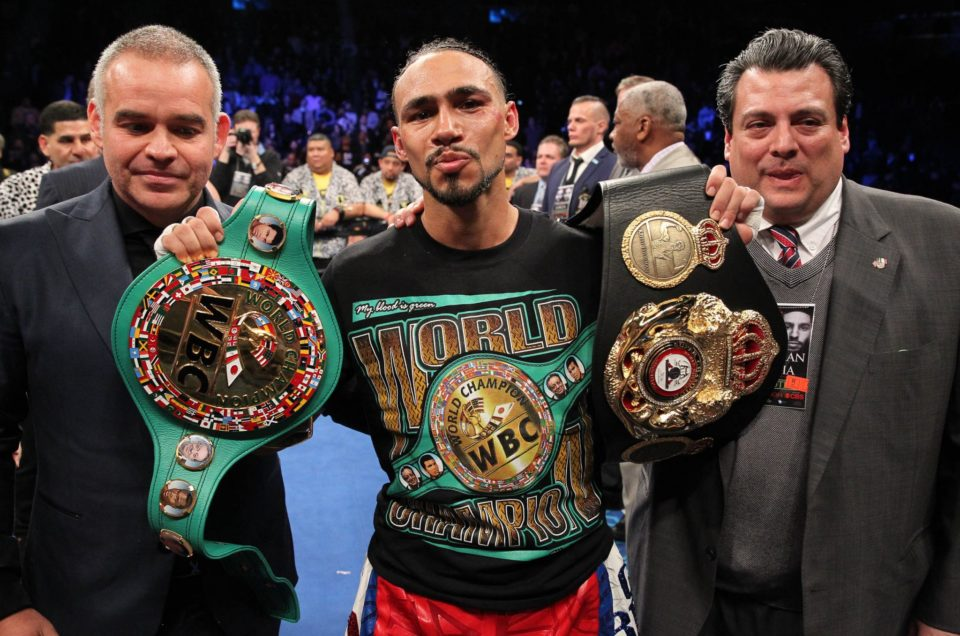 KEITH THURMAN UNIFIES WELTERWEIGHT DIVISION WITH SPLIT-DECISION OVER DANNY GARCIA SATURDAY IN PRIMETIME ON CBS AT BARCLAYS CENTER
