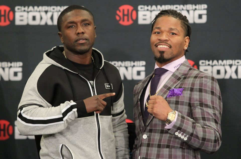 Former World Champions Andre Berto & Shawn Porter Meet in Welterweight World Title Eliminator On Saturday, April 22 On SHOWTIME CHAMPIONSHIP BOXING