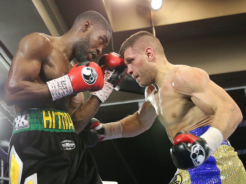 Unbeaten Contender Sergiy Derevyanchenko Stops Previously Undefeated Kemahl Russell in Round Five