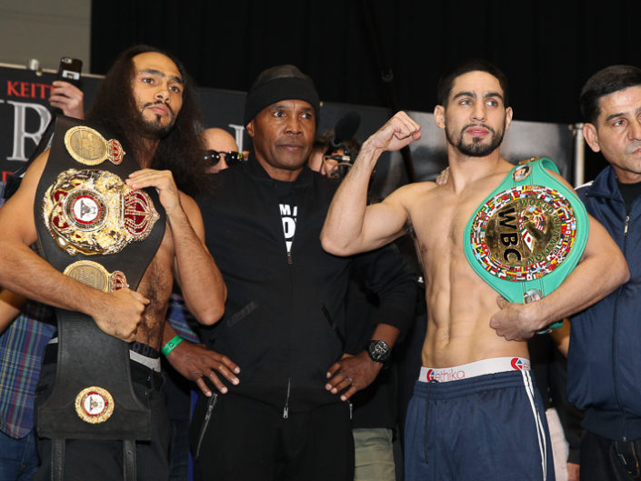 Thurman vs Garcia Weighins