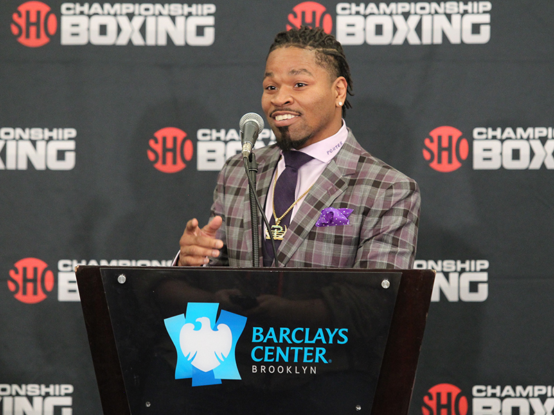 Shawn Porter to Host Workout in Advance of World Title Eliminator