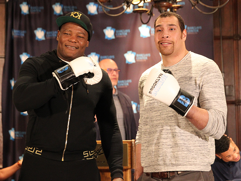 Heavyweight Contender Luis Ortiz Battles Derric Rossy Saturday, April 22 at Barclays Center in Brooklyn