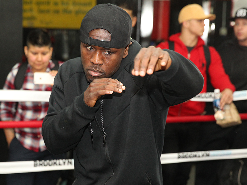 Andre Berto vs. Shawn Porter Media Workout Quotes & Photos