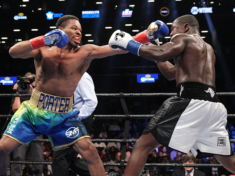 SHAWN PORTER STOPS ANDRE BERTO IN WELTERWEIGHT TITLE ELIMINATOR FROM BARCLAYS CENTER