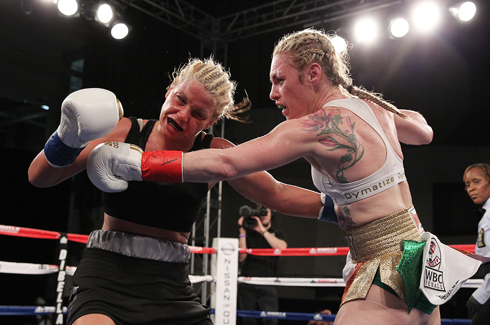 HARDY VICTORIOUS ON BROADWAY BOXING'S RETURN TO NEW YORK