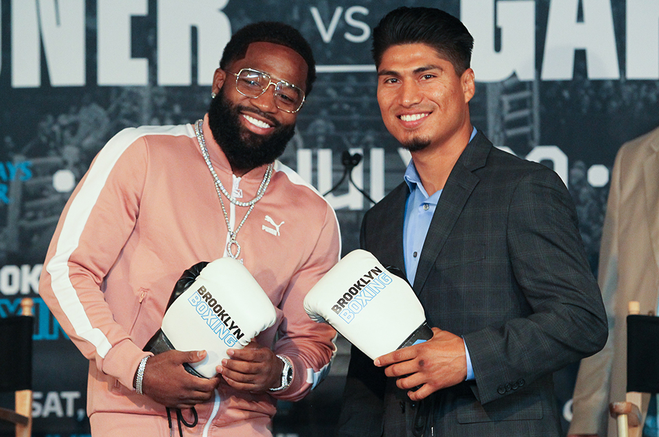 Adrien Broner vs. Mikey Garcia New York Press Conference Quotes & Photos
