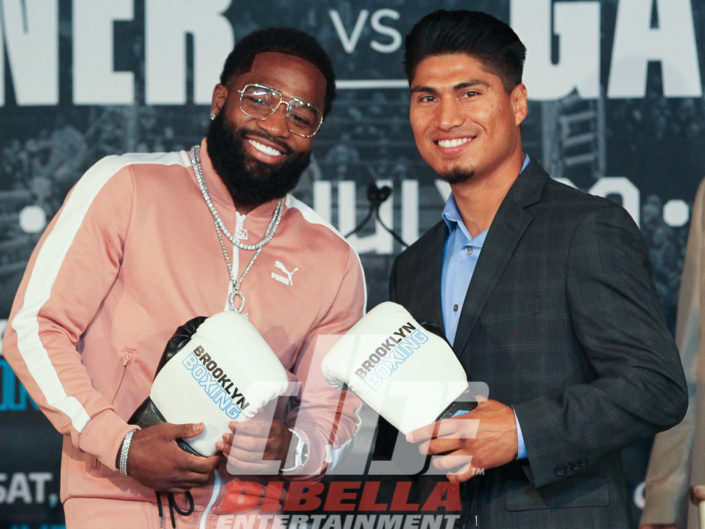 Broner vs Garcia Press Conference in New York City