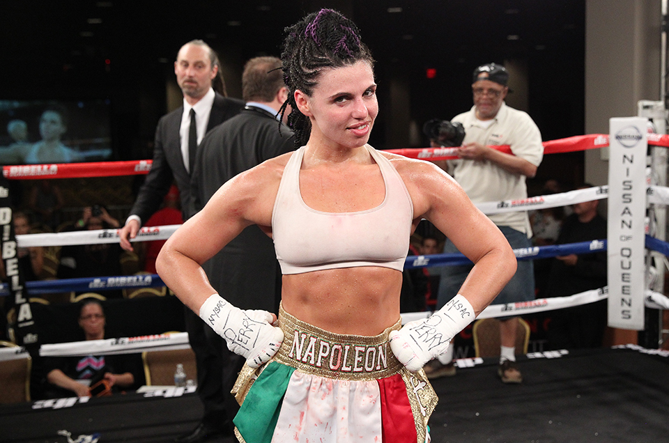 LINDENHURST, LONG ISLAND'S ALICIA NAPOLEON TO COMPETE IN FIRST WOMEN'S WORLD TITLE FIGHT IN THE HISTORY OF NASSAU COLISEUM
