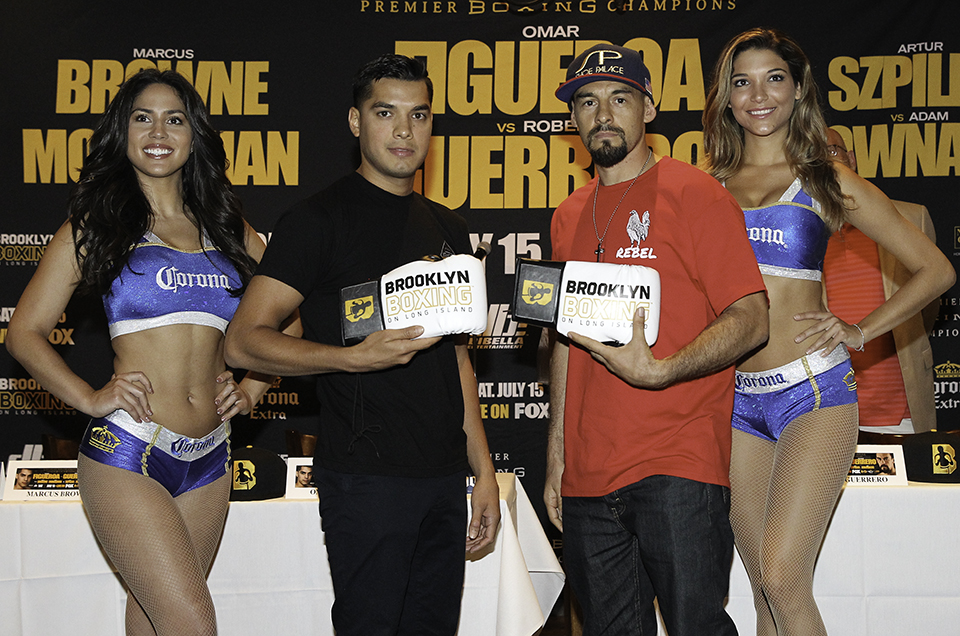 Video of Todays Final Press Conference For Figueroa vs Guerrero
