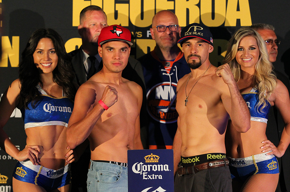 Premier Boxing Champions on FOX & FOX Deportes: Omar Figueroa vs. Robert Guerrero Official Weights & Weigh-In Photos
