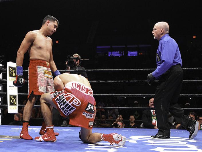 Figueroa vs Guerrero Fight Photos