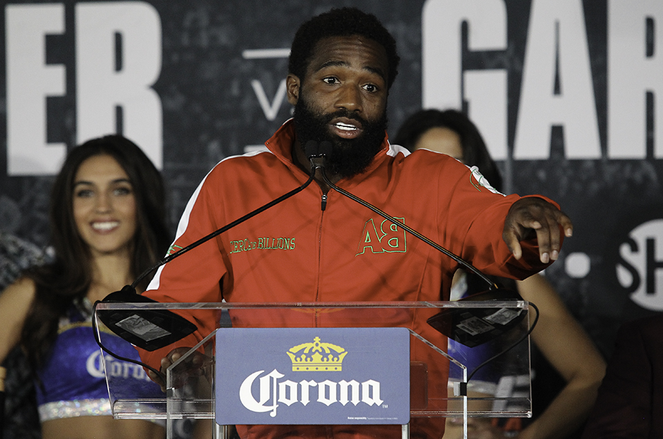 Adrien Broner vs. Mikey Garcia Final Press Conference Quotes & Photos