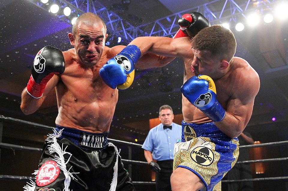 Sergiy Derevyanchenko & Tureano Johnson Meet in Middleweight World Title Eliminator