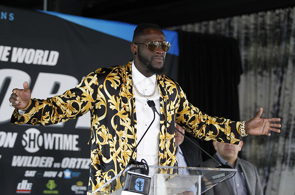 HEAVYWEIGHT WORLD CHAMPION DEONTAY WILDER AGAINST UNDEFEATED CONTENDER LUIS ORTIZ Tickets On Sale Now!