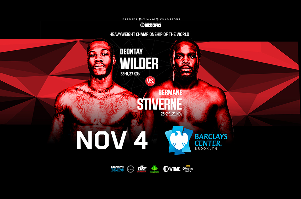 Dominic Breazeale Takes on Eric Molina on the Undercard of the Wilder vs. Stiverne Championship Showdown