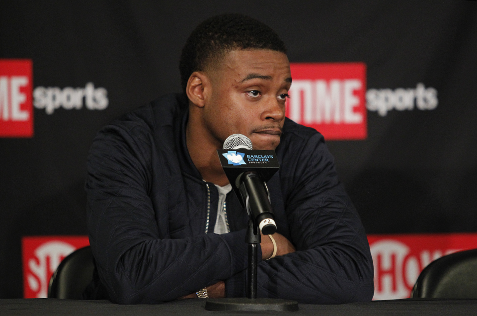 ERROL SPENCE JR. vs. LAMONT PETERSON BROOKLYN PRESS CONFERENCE ALERT