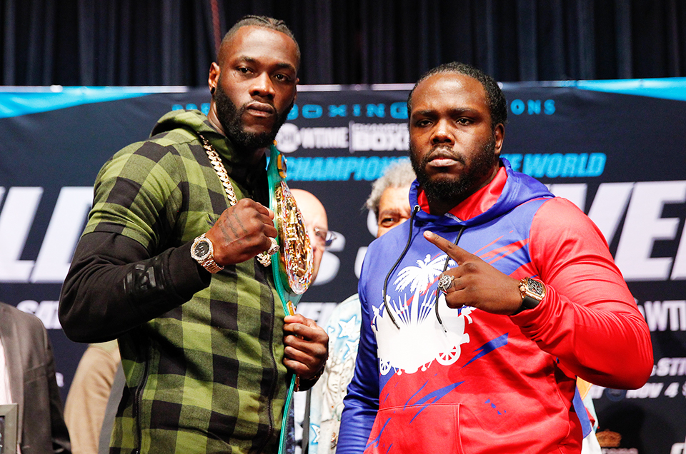 Deontay Wilder vs. Bermane Stiverne Final Press Conference Quotes & Photos