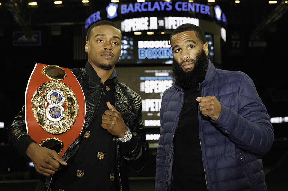 Errol Spence Jr. vs. Lamont Peterson Press Conference Quotes & Photos
