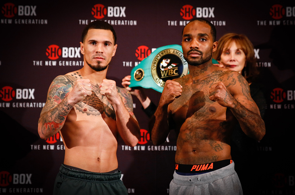 SHOBOX: THE NEW GENERATION FINAL WEIGHTS, QUOTES & PHOTOS FOR TOMORROW/FRIDAY, NOV. 10