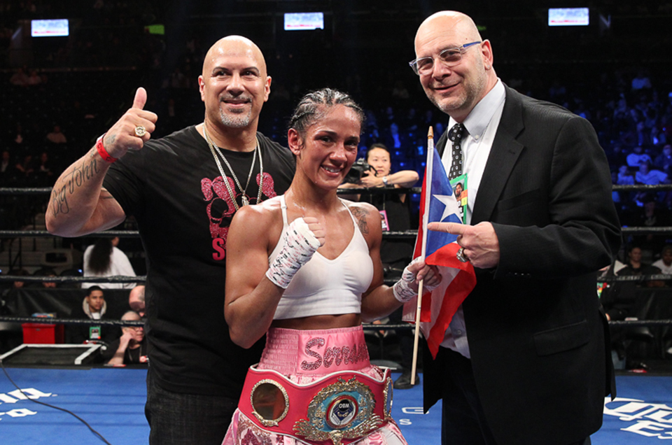 AMANDA SERRANO TO FIGHT FOR WORLD TITLE IN A RECORD SIXTH WEIGHT DIVISION