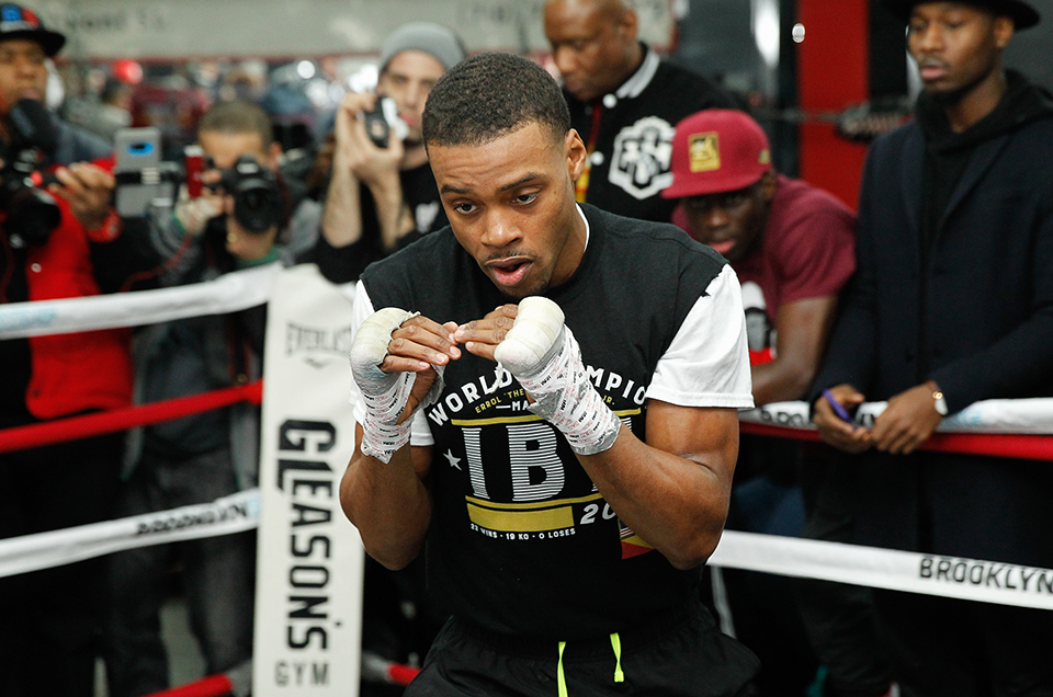 Errol Spence Jr. vs. Lamont Peterson Fight Week Media Workout Quotes & Photos