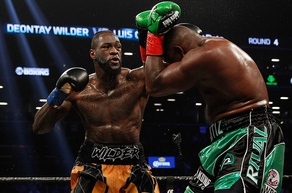 DEONTAY WILDER RETAINS WBC HEAVYWEIGHT TITLE WITH THRILLING 10 TH ROUND TECHNICAL KNOCKOUT OF LUIS ORTIZ