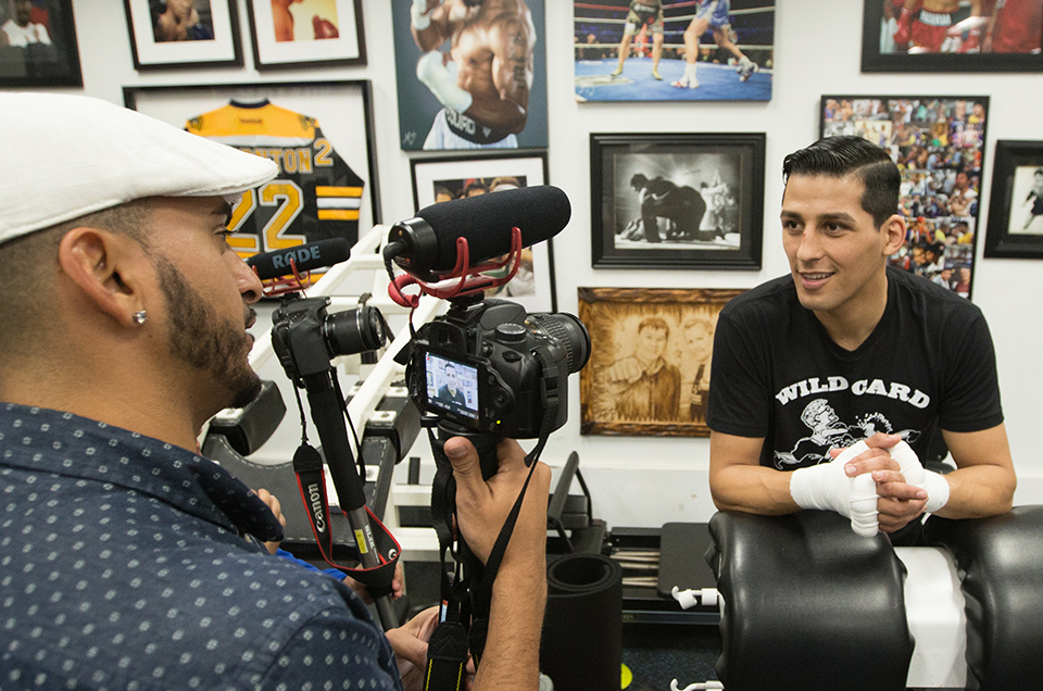 Hugo Centeno Jr. & Nathaniel Gallimore Los Angeles Media Workout Quotes & Photos Ahead of Upcoming Matchups Live on SHOWTIME
