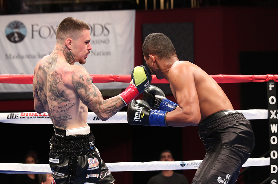 """FEROCIOUS"" GEORGE KAMBOSOS CRUSHES JOSE FORERO IN MAIN EVENT"