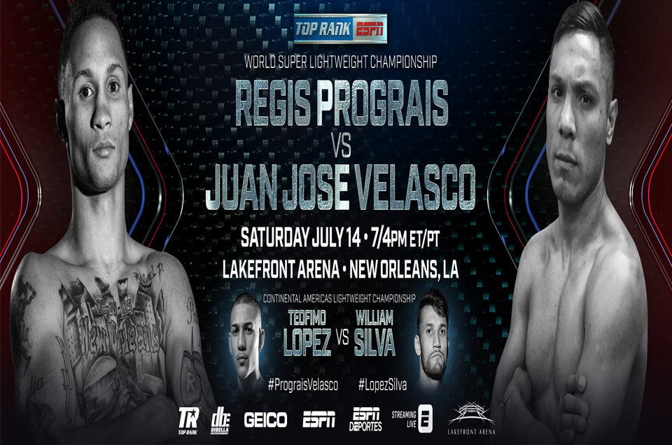 NFL Star Running Back Leonard Fournette Throws His Support to New Orleans Native Regis Prograis