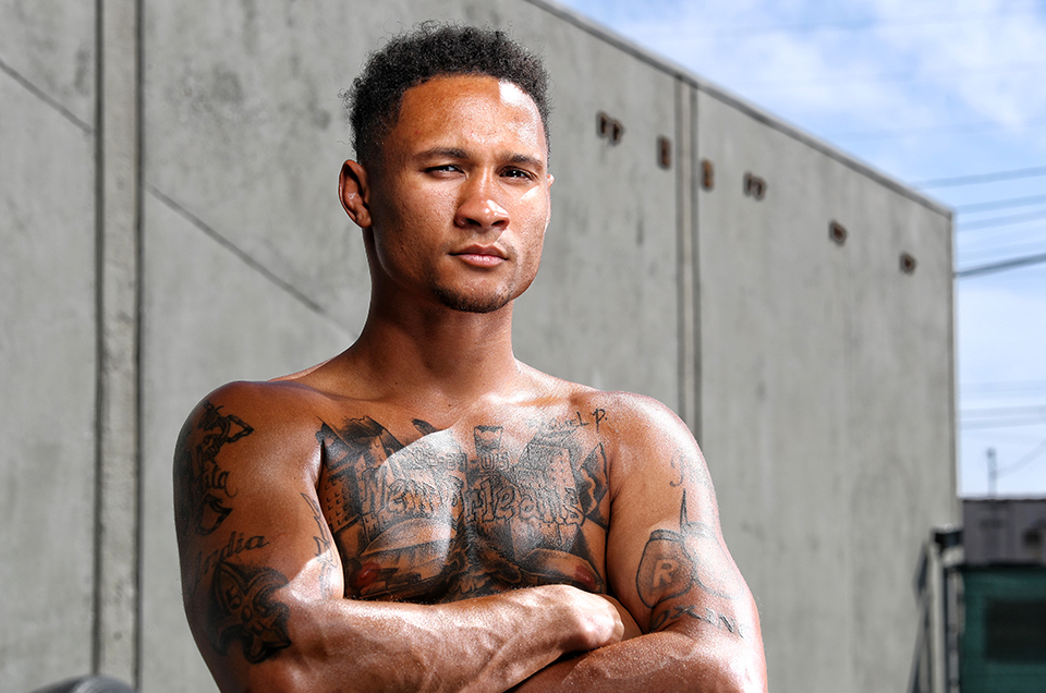 "ANTICIPATION BUILDS FOR JULY 14 NEW ORLEANS HOMECOMING AS REGIS ""ROUGAROU"" PROGRAIS HITS WILD CARD WEST BOXING GYM FOR LOS ANGELES MEDIA WORKOUT"
