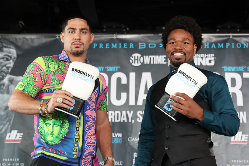 Danny Garcia vs. Shawn Porter New York Press Conference  Quotes & Photos