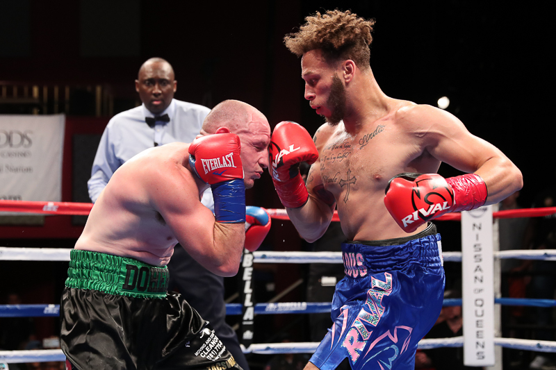 MYKQUAN WILLIAMS DOMINATES TOUGH MATT DOHERTY IN MAIN EVENT