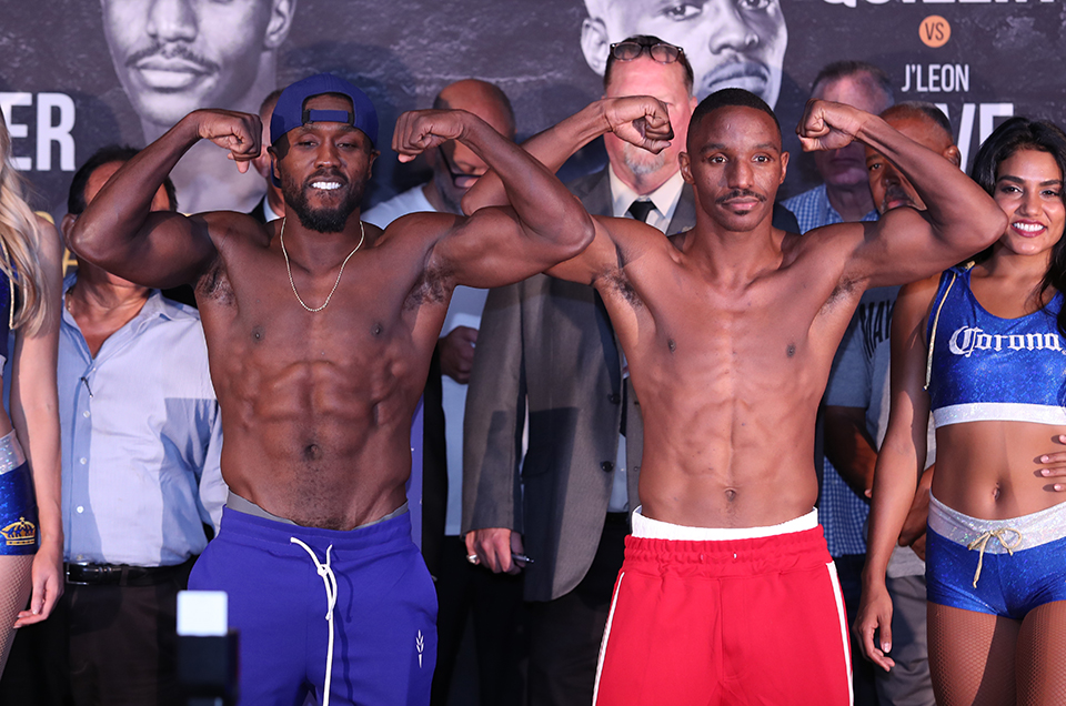 Andre Berto vs. Devon Alexander & Peter Quillin vs. J'Leon Love Weights