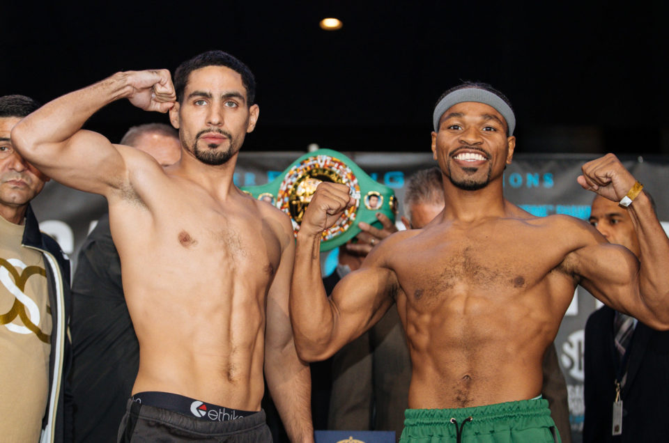 Danny Garcia vs. Shawn Porter Official Weights & Weigh-In Photos
