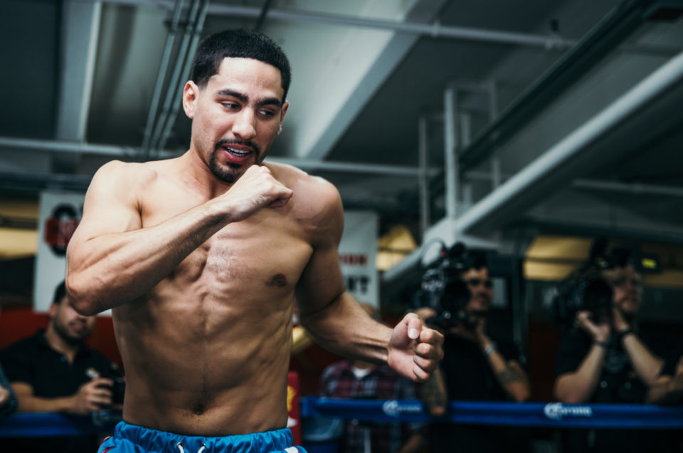 DANNY GARCIA VS. SHAWN PORTER FIGHT WEEK MEDIA WORKOUT QUOTES & PHOTOS