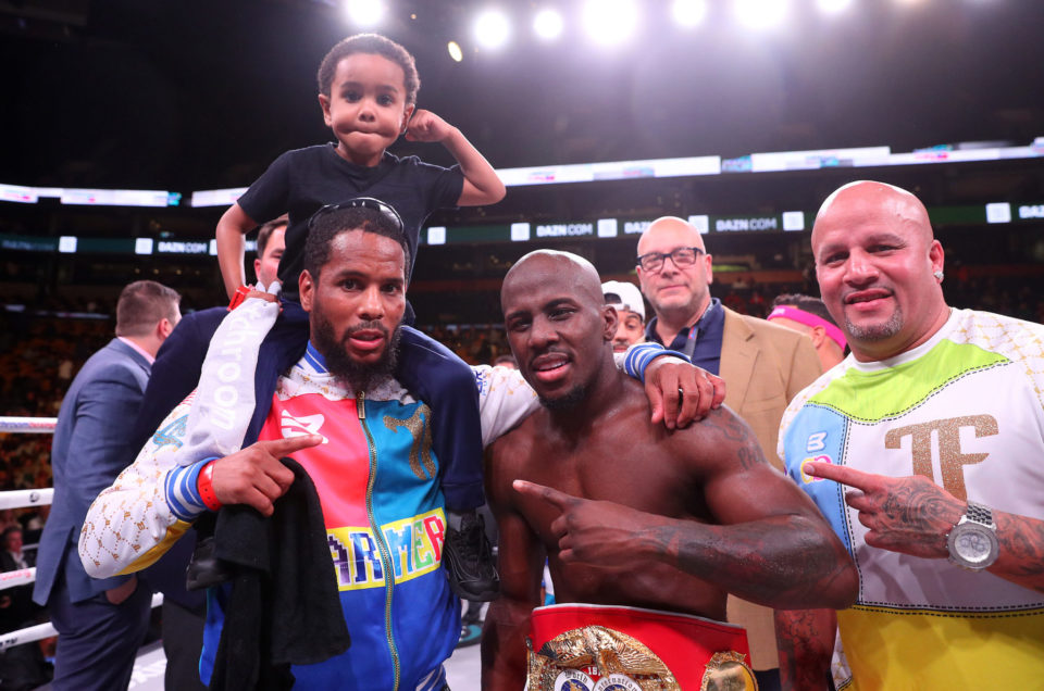 Congratulations To Tevin Farmer On An Impressive First Defense Of The IBF Super Featherweight World Title Via Fifth Round KO Of James Tennyson