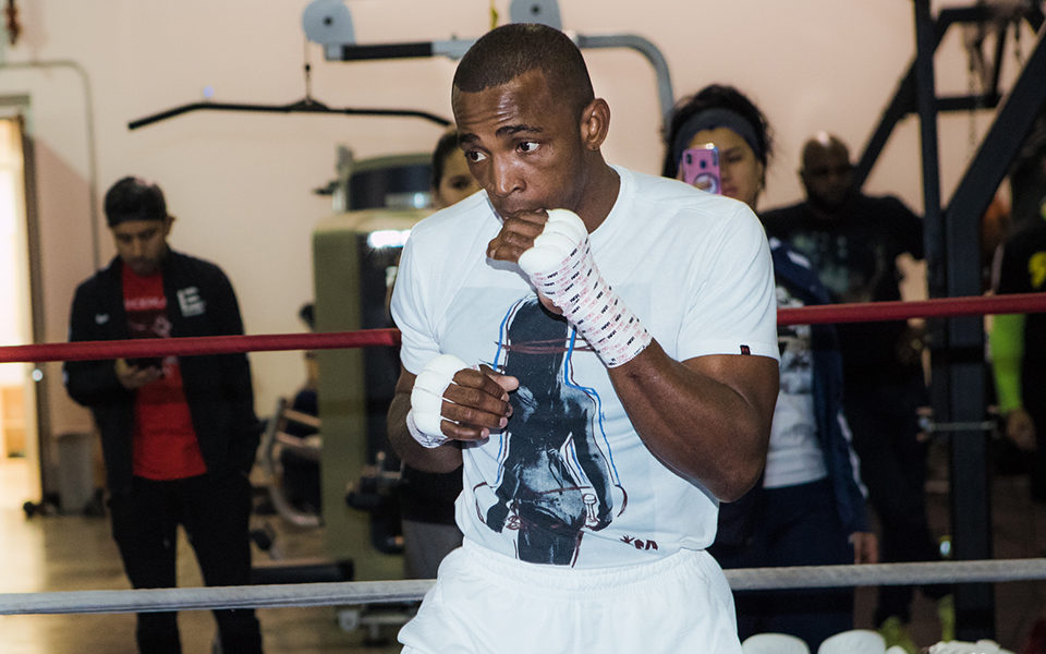 ERISLANDY LARA TRAINING CAMP QUOTES & PHOTOS