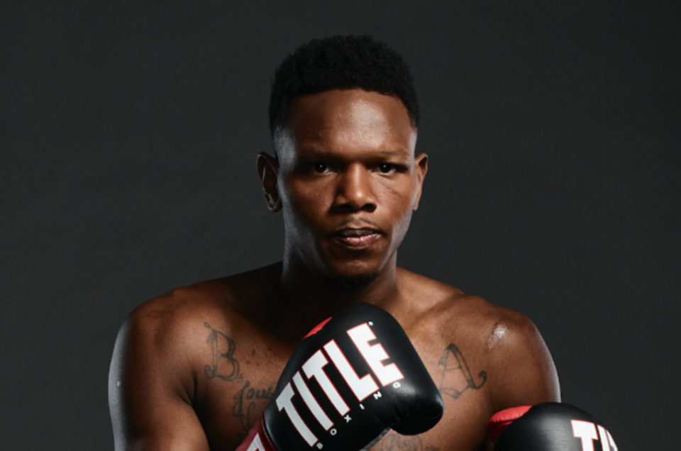 THE CONTENDER'S ERIC WALKER RETURNS TOMORROW ON BROADWAY BOXING STREAMED LIVE ON UFC FIGHT PASS