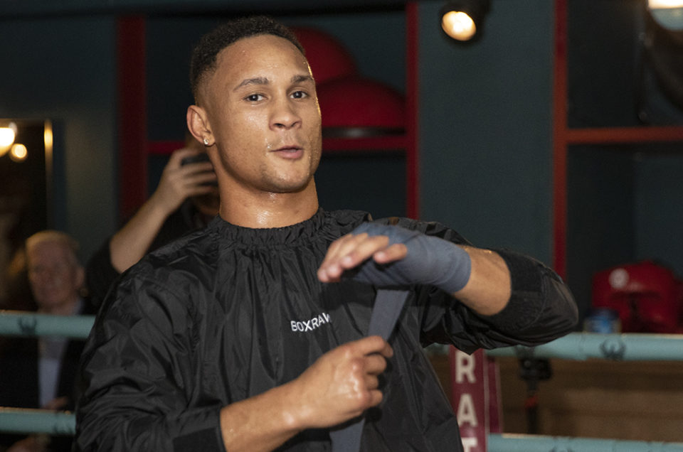 REGIS PROGRAIS IMPRESSES LONDON MEDIA AHEAD OF UNIFICATION CLASH WITH JOSH TAYLOR