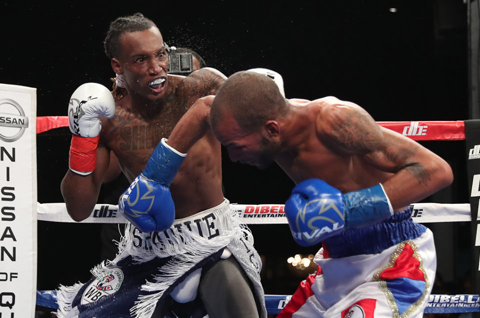 "WORLD RANKED SUPER FEATHERWEIGHT CONTENDER O'SHAQUIE ""ICE WATER"" FOSTER DEFENDS WBC SILVER TITLE ON BROADWAY BOXING STREAMED LIVE ON UFC FIGHT PASS"
