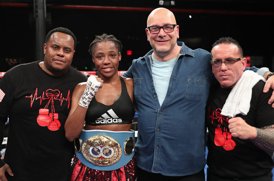 """""""MERCILESS"""" MARY MCGEE DEFENDS IBF JUNIOR WELTERWEIGHT WORLD TITLE DURING BUSY WEEKEND OF VICTORIES FOR DIBELLA ENTERTAINMENT FIGHTERS"""